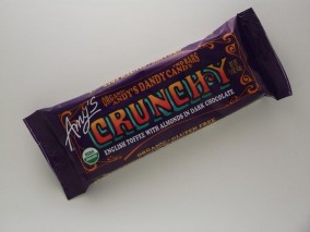 Amy's Andy's Dandy Candy crunchy bar